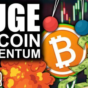 BIG Bitcoin Momentum Wave (Crypto FOMO Is Rising)