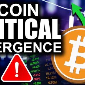Bitcoin at Critical Divergence (Can Alt Coins HELP Bitcoin?)