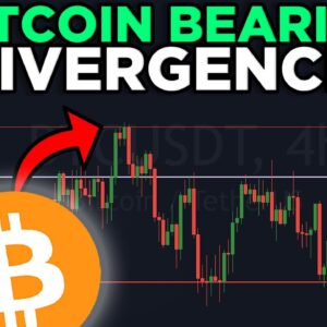 BITCOIN BEARISH DIVERGENCE RIGHT NOW!!!! DON'T BE FOOLED!!!