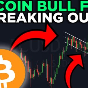 BITCOIN BREAKS OUT OF THIS BULL FLAG!!! INSANE PRICE TARGETS REVEALED!!!