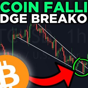BITCOIN FALLING WEDGE BREAK OUT!!! NEW BITCOIN PRICE TARGETS REVEALED!!!!!!