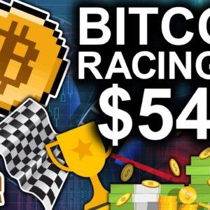 Bitcoin Racing Towards $54k (Cardano Tops $3)