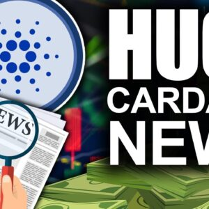 Cardano Stands Against FUD (Crypto Smart Contracts Changing EVERYTHING)