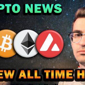 CRYPTO NEWS - BITCOIN GOLDEN CROSS, AVALANCHE, NFTs