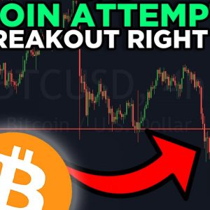 IT'S GAME OVER FOR ALL BITCOIN BEARS IF THIS HAPPENS!