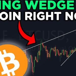 NEW BITCOIN PATTERN REVEALS THE NEXT MAJOR MOVE!!! [rising wedge]