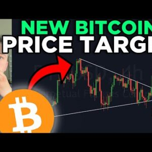 NEW BITCOIN PRICE TARGET!!!! KEY LEVELS TO WATCH RIGHT NOW!!!