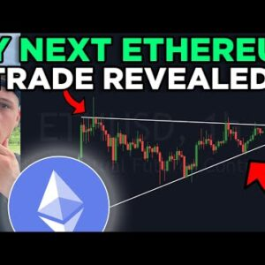 NEW ETHEREUM PATTERN ABOUT TO BREAK (imminent)!!! MY NEXT TRADE OPPORTUNITY!