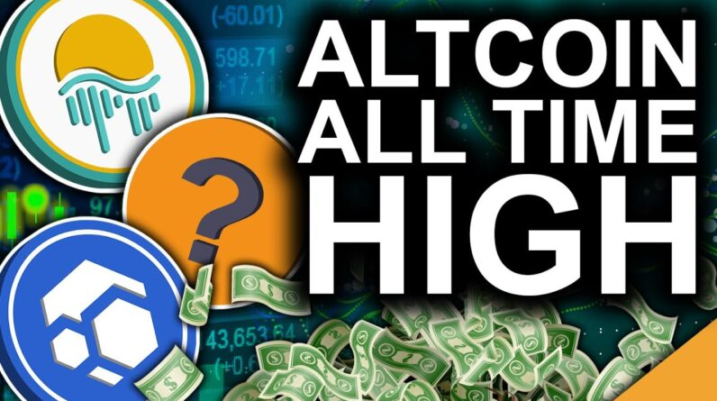 Sleeper Mid Cap Gems (AltCoins Set For New All Time Highs)