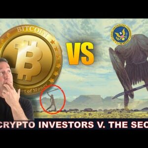THE SEC IS DESTROYING THE CRYPTO MARKET. HOW TO STOP IT.