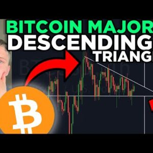THIS BITCOIN PATTERN WILL SHOCK EVERYONE!!!! [descending triangle!!!]