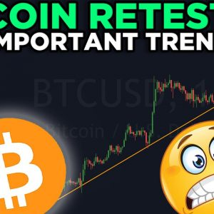 THIS IMPORTANT TREND LINE IS GETTING RETESTED RIGHT NOW!!! MY WEEKEND PRICE PREDICTIONS!!!