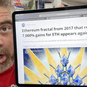 $13k ETH CONFIRMED! (7,000% Increase Possible?)