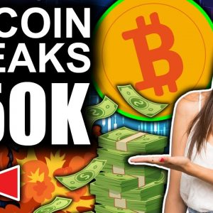 Bitcoin Breaks $50,000!!!! (Fed To Use XRP Tech?!)