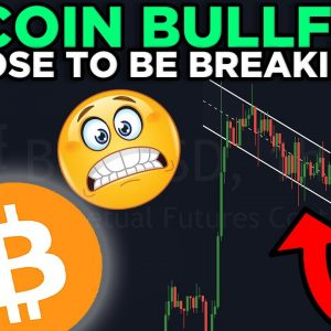 BITCOIN BULL FLAG IS BREAKING RIGHT NOW!! NEW PRICE TARGETS REVEALED!!!
