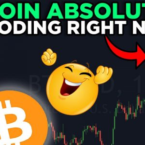 BITCOIN EXPLODING RIGHT NOW!!!!! MY LONG IS GOING NUTS!!!!!!