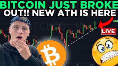 BITCOIN IS BREAKING OUT RIGHT NOW!!!!!! BITCOIN FUTURES ETF JUST OPENED!!!