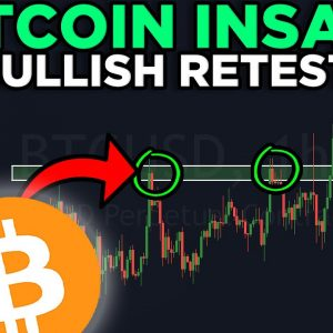 BITCOIN JUST HAD AN INSANE BULLISH RETEST!!! [price target revealed!!!]