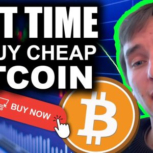 Bitcoin Steady And Ready for Gains (LAST Time to buy cheap Bitcoin)
