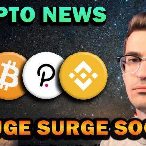 Crypto News - Huge SURGE Imminent!! Polkadot and BNB Bullish