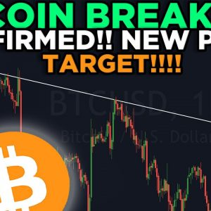 BITCOIN IS BREAKING OUT RIGHT NOW!!! NEW PRICE TARGET + MY TRADE IS ABSOLUTELY EXPLODING!!!