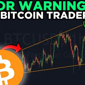 EMERGENCY BITCOIN MASSIVE NEW PATTERN!!! YOU NEED TO SEE THIS CHART ASAP!!!!!