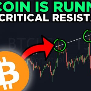 THIS IS IMPORTANT FOR BITCOIN, ETHEREUM & ALL THE ALTCOINS!!! BITCOIN LIVE TA