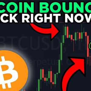 IMPORTANT: BITCOIN BOUNCING BACK!! IS THIS THE START OF THE NEXT LEG UP??