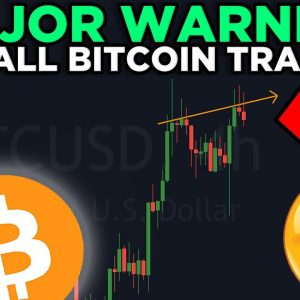 MAJOR WARNING FOR ALL BITCOIN TRADERS!!! THIS LOOKS SO DANGEROUS!!
