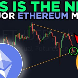 THIS LEVEL HAS TO HOLD OTHERWISE ETHEREUM WILL DO THIS...