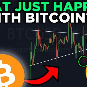 WHAT JUST HAPPEND TO BITCOIN??? SYMMETRICAL TRIANGLE BREAKDOWN!!!